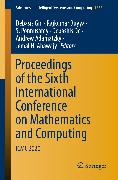 Cover-Bild zu Proceedings of the Sixth International Conference on Mathematics and Computing (eBook) von Buyya, Rajkumar (Hrsg.)