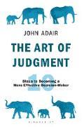 Cover-Bild zu The Art of Judgment (eBook) von Adair, John