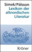 Cover-Bild zu Lexikon der altnordischen Literatur (eBook) von Simek, Rudolf