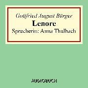 Cover-Bild zu Lenore (Audio Download) von August, Bürger Gottfried