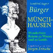Cover-Bild zu Gottfried August Bürger: Münchhausen (Audio Download) von Bürger, Gottfried August