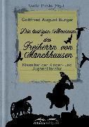 Cover-Bild zu Die lustigen Abenteuer des Freiherrn von Münchhausen (eBook) von Bürger, Gottfried August