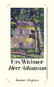 Cover-Bild zu Herr Adamson (eBook) von Widmer, Urs