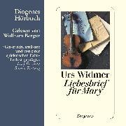 Cover-Bild zu Liebesbrief für Mary (Audio Download) von Widmer, Urs