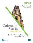 Cover-Bild zu University Success Transition Level Writing: Student Book with MyEnglishLab von Renehan, Amy