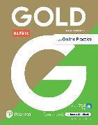 Cover-Bild zu New Gold First NE 2018 6e B2 Student's Book with Interactive eBook, Online Practice, Digital Resources and App