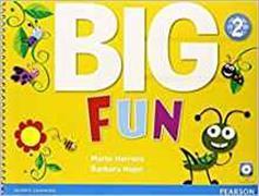 Cover-Bild zu Big Fun Level 2 Student's Book von Herrera, Mario