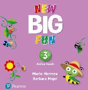 Cover-Bild zu Big Fun 3 Active Teach von Herrera, Mario