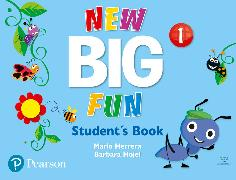 Cover-Bild zu Big Fun Refresh Level 1 Student Book and CD-ROM pack von Herrera, Mario