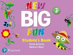 Cover-Bild zu Big Fun Refresh Level 3 Student Book and CD-ROM pack von Herrera, Mario