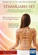 Cover-Bild zu Stimmgabel-Set: Die Kosmische Hausapotheke für Alltagsbeschwerden von A bis Z von Künne, Thomas