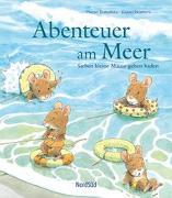Cover-Bild zu Abenteuer am Meer - Sieben kleine Mäuse gehen baden von Yamashita, Haruo