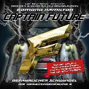 Cover-Bild zu Captain Future, Die Herausforderung, Folge 5: Gefährlicher Schwindel (Audio Download) von Hamilton, Edmond