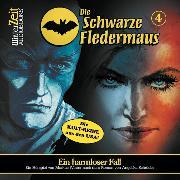 Cover-Bild zu Die schwarze Fledermaus, Folge 4: Ein harmloser Fall (Audio Download) von Schröder, Angelika