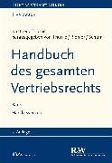 Cover-Bild zu Handbuch des gesamten Vertriebsrechts, Band 1 (eBook) von Thume, Karl-Heinz