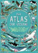 Cover-Bild zu Der Atlas der Ozeane von Hawkins, Emily