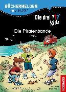 Cover-Bild zu Die drei ??? Kids, Bücherhelden, Die Piratenbande (drei Fragezeichen Kids) (eBook) von Pfeiffer, Boris