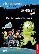 Cover-Bild zu Die drei ??? Kids, Bücherhelden 2. Klasse, Der Monster-Schreck (drei Fragezeichen Kids) (eBook) von Pfeiffer, Boris