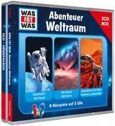 Cover-Bild zu WAS IST WAS 3-CD-Hörspielbox Abenteuer Weltraum von Baur, Dr. Manfred