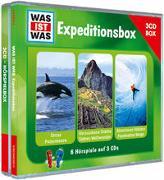 """Cover-Bild zu WAS IST WAS 3-CD-Hörspielbox """"Expedition"""" von Baur, Manfred"""