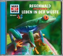 Cover-Bild zu Was ist was Hörspiel-CD: Der Regenwald/ Wüsten von Haderer, Kurt