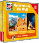 Cover-Bild zu Was ist was Hörspielbox: Geheimnisse der Welt von Baur, Manfred