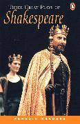 Cover-Bild zu Three Great Plays of Shakespeare Level 4 Book