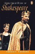 Cover-Bild zu Three Great Plays of Shakespeare Level 4 Audio Pack (Book and audio cassette)