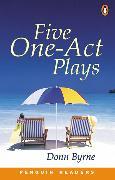 Cover-Bild zu Five One-Act Plays Level 3 Book von Byrne, Donn