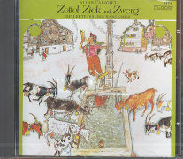 Cover-Bild zu Zottel, Zick und Zwerg von Carigiet, Alois
