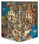 Cover-Bild zu Market Place Puzzle von Göbel, Doro; Knorr