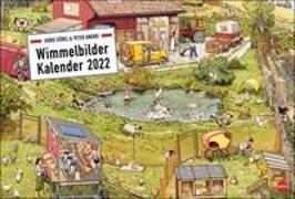 Cover-Bild zu Göbel & Knorr Wimmelbilder Edition Kalender 2022 von Knorr, Peter