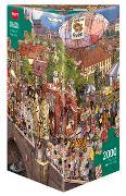 Cover-Bild zu Street Parade Puzzle von Göbel, Doro