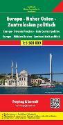 Cover-Bild zu Europa-Naher Osten-Zentralasien politisch. 1:5'500'000