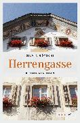 Cover-Bild zu Herrengasse (eBook) von Götschi, Silvia