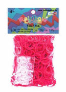 Cover-Bild zu Rainbow Loom Gummibänder Pink Opaque