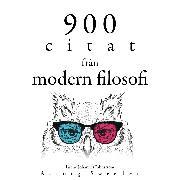Cover-Bild zu 900 citat från modern filosofi (Audio Download) von Kant, Immanuel