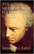 Cover-Bild zu The Metaphysical Elements of Ethics (eBook) von Kant, Immanuel