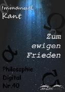 Cover-Bild zu Zum ewigen Frieden (eBook) von Kant, Immanuel