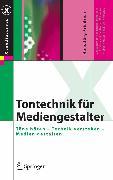 Cover-Bild zu Tontechnik für Mediengestalter (eBook) von Friedrich, Hans Jörg