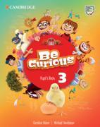 Cover-Bild zu Be Curious Level 3 Pupil's Book von Nixon, Caroline