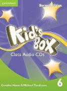 Cover-Bild zu Kid's Box Level 6 Class Audio CDs (4) von Nixon, Caroline