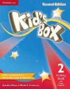 Cover-Bild zu Kid's Box Level 2 Activity Book with Online Resources von Nixon, Caroline