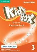 Cover-Bild zu Kid's Box Level 3 Teacher's Resource Book with Online Audio von Escribano, Kathryn