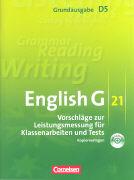 Cover-Bild zu English G 21. Grundausgabe D5. Vorschläge zur Leistungsmessung für Klassenarbeiten und Tests von Biederstädt, Wolfgang (Hrsg.)