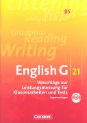 Cover-Bild zu English G 21. Ausgabe B5. Vorschläge zur Leistungsmessung für Klassenarbeiten und Tests von Biederstädt, Wolfgang (Hrsg.)