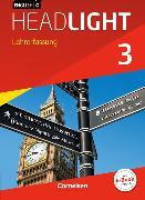 Cover-Bild zu English G Headlight 3. Allgemeine Ausgabe. Schülerbuch - Lehrerfassung mit CD-ROM von Abbey, Susan