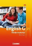 Cover-Bild zu English G 21. Ausgabe B6. Fördermaterial. Kopiervorlagen von Wright, Jon