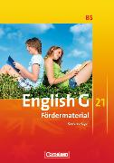 Cover-Bild zu English G 21. Ausgabe B5. Fördermaterial. Kopiervorlagen von Wright, Jon