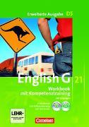 Cover-Bild zu English G 21. Erweiterte Ausgabe D5. Workbook mit Kompetenztraining. Lehrerfassung von Seidl, Jennifer